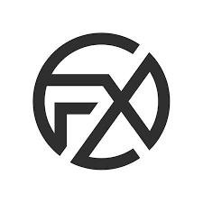 initial letter fx logo or xf logo