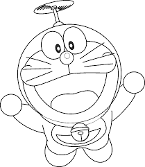It is necessary to expand or use the tablet in landscape mode and reload the page to color the picture. Doraemon Coloring Pages Coloring Home