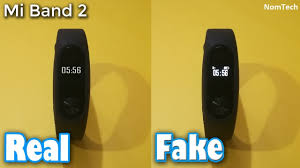 Fake Mi Band 2 vs. <b>Original Xiaomi Mi Band</b> 2 - YouTube