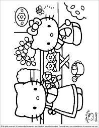 The character's first appearance on an item, a vinyl coin purse, was introduced in japan in. Hello Kitty Free Online Coloring Page Coloring Library
