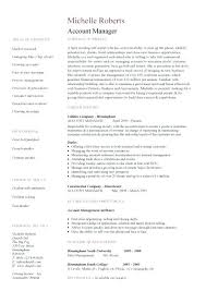 Resume Job Description Awesome 9813 Account Manager Job Description For Resume Account Manager Example 24