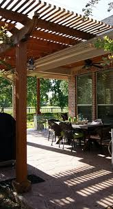 is a pergola attached to your house