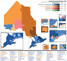 Mpp Seating Chart 2018 Ontario General Election Wikipedia