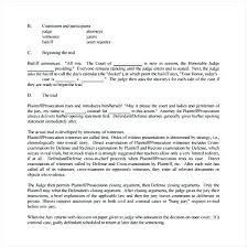 Images Of Absentee Court Witness Statement Template Sample Small ...