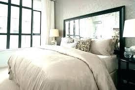 Bedroom Sets ~ Mirrored Headboard Bedroom Set Mirror Queen Wonderful ...