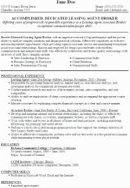 Property Manager Resume Objective Best Of Leasing Manager Resume