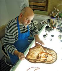glass painting to enlarge