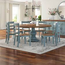 This classic farmhouse dining table is formed from reclaimed pine and hand finished to preserve the natural beauty and variation of the wood grain. Round Farmhouse Dining Table For 6 Off 63