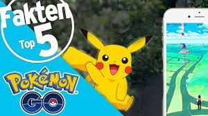 Top 5 Fakten über Pokémon GO