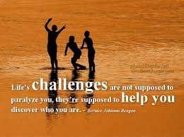 Quotearium Inspirational quote about life's Challenges Magnificent Inspirational Sayings About Life Challenges