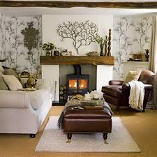 Delightful Living Room Ideas Brown Sofa Amazing Pictures