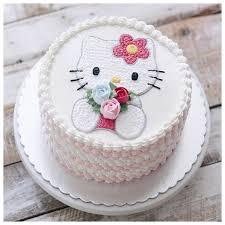 Hello Kitty Birthday Cake Flowerysitecom