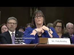 Senator Collins Discusses the Southern Maine Area Agency on Aging with  Director Polly Bradley - YouTube