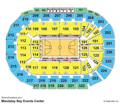 Mandalay Bay Event Center Detailed Seating Chart 10 Borgata Event Center Seating Chart Resume Samples