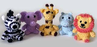 Crochet Animal Patterns Extraordinary Crochet Spot Blog Archive Crochet Pattern Little Safari Animals