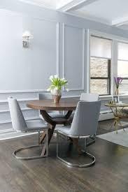 a regal modern midtown apartment informal dining roomsdining