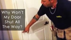 my garage door won t closeDoor Won T Close Larson Storm Door Won T Close Building