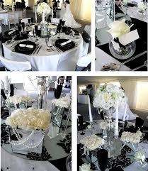 elegant black and white wedding wedding inspiration center 2012 elegant black and white wedding