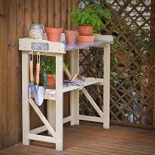 Potting Table Hardwood Potting Table