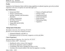 managing editor resume content editor resume examples professional writerle web fresher