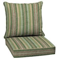 allen roth 2 piece multi eucalyptus deep seat patio chair cushion