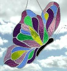 stained glass erfly purple mauve stained glass erfly design 7 stained glass erfly suncatcher patterns