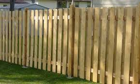 wooden fence design for privacy twin cities mn
