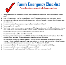How To Build A Family Emergency Plan Alarm Relay