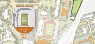 Texas Dkr Memorial Stadium Seating Chart University Of Texas Athletics Master Plan Details Dkr South