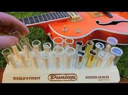 Dunlop Slide Size Chart Jim Dunlop Guitar Slide Range