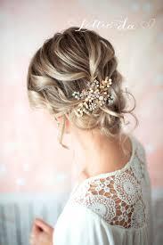 Flower Hair Style gold boho hair vine b bridal pearl flower hair b wedding 7240 by wearticles.com