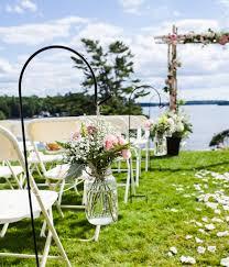 Wedding Garden Ideas With Flower Decoration. Terrace and Garden: Wedding  Pots Garden With Flower Ornaments - Furniture