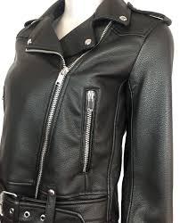 zara women faux leather biker jacket 3046 041 800