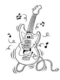 There are many genres of music, and each, strange as it may seem if you like playing guitar, with us you can color a guitarist woman that is trying hard to learn and play the guitar like the big guitarists of the world. Kids N Fun Com 62 Coloring Pages Of Musical Instruments