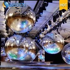 Decorative Disco Ball Interesting China Stage Concert Decorative Inflatable Mini Mirror Gold Disco