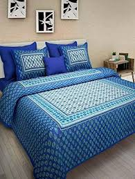 king size bed sheet jaipur prints cotton king size 1 double bedsheet with 2 pillow cover