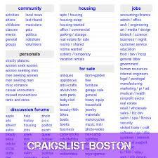 craigslist boston machusetts