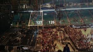 Greensboro Coliseum Concert Seating Chart Interactive Map