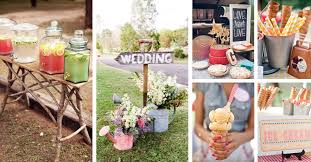 Outdoor Wedding Decorations That Are Easy To DIY  Martha Stewart Diy Backyard Wedding Decorations