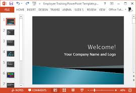 Employee Training Powerpoint Free Employee Training Presentation Template For Powerpoint