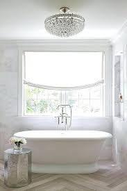 chandeliers for bathroom lush mount crystal chandelier bathroom semi flush marble niche glass shelves bathroom chandeliers