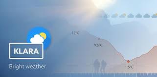 Klara weather - Apps on Google Play