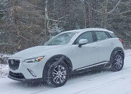 2018 Mazda CX-3 churns on true vector through snow : New Car Picks