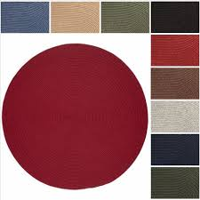 refundable rhody rugs woolux wool 10 foot roundl braided rug by classic braid