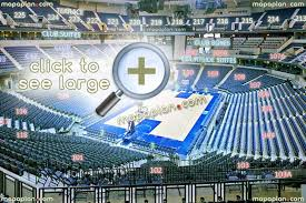 Memphis Grizzlies Stadium Seating Chart Fedexforum Seat Row Numbers Detailed Seating Chart