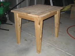 diy outdoor side table plans