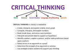 critical thinking multiple choice expert you can trust critical thinking problem
