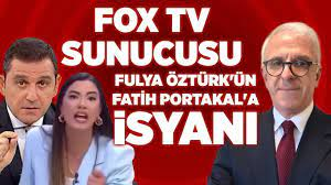 """Fox Tv Sunucusu Fulya Öztürk'ün Fatih Portakal'a İsyanı""""   Zafer Arapkirli    Med"""