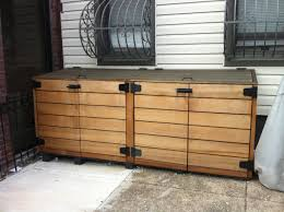 Outside Trash Can Enclosure Outdoor Trash Storage Http - Exterior storage cabinets