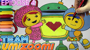 Small Picture Team Umizoomi Coloring Book Episode 4 MILLI BOT GEO Coloring